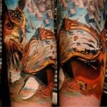 Salvador Stuff realistic tattoo