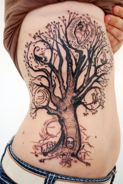 It's My Life Tree Graphic tattoo idea