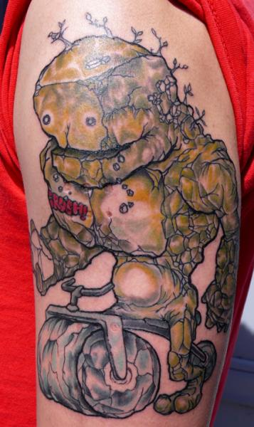 Crush Stone Giant tattoo by Three Kings Tattoo