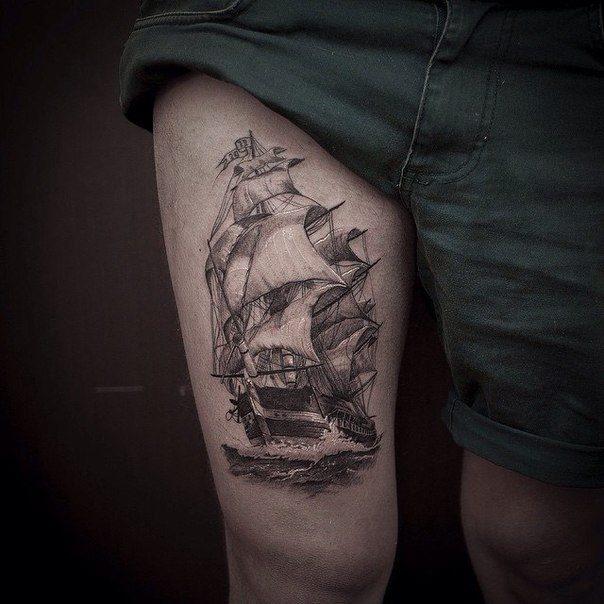Graphic Ship by Sasha Foteyev