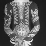 Full Body and Sleeves Blackwork tattoo