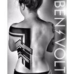 Nice Blackwork Back tattoo by Ben Volt