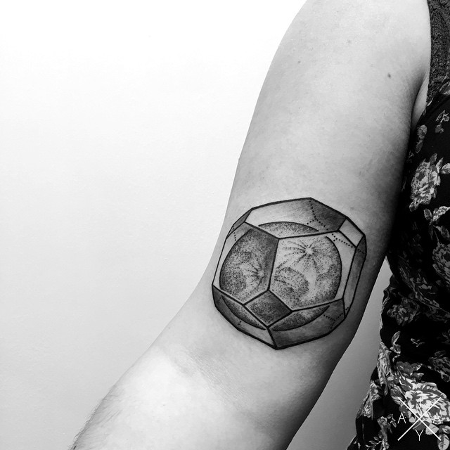 Caged Moon tattoo