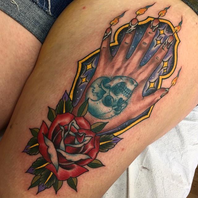 Hand of Glory tattoo