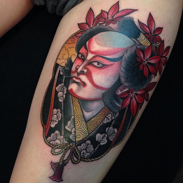 Real Kabuki tattoo
