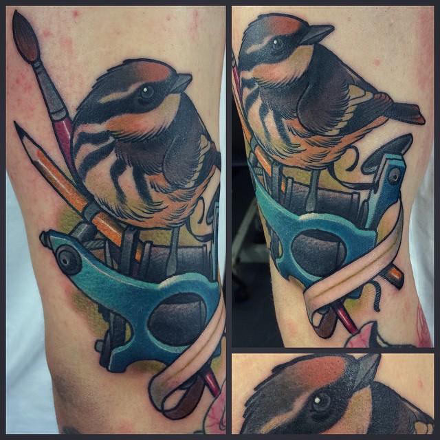 Sparrow Tattoo Machine