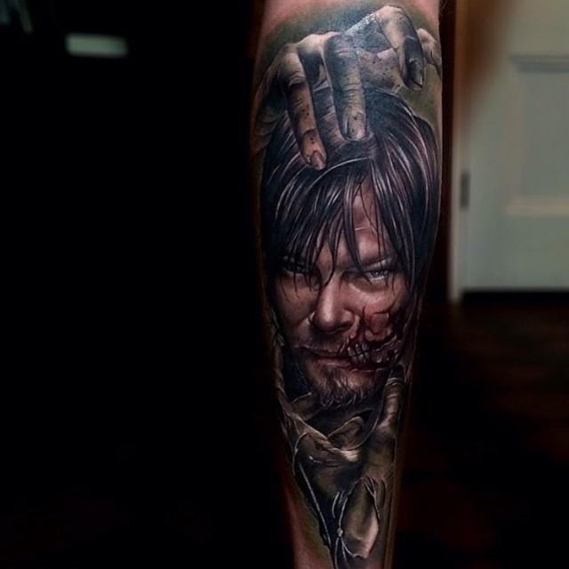 Walking Dead Tattoo Idea