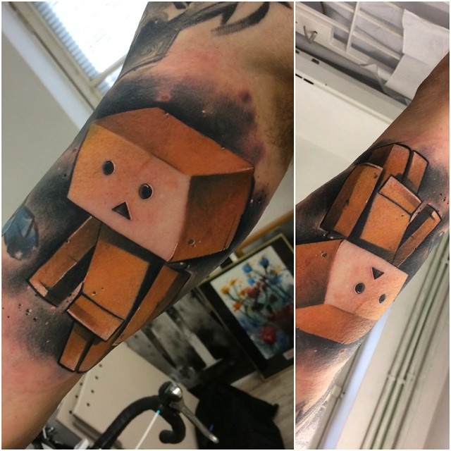 Charater Danbo Tattoo