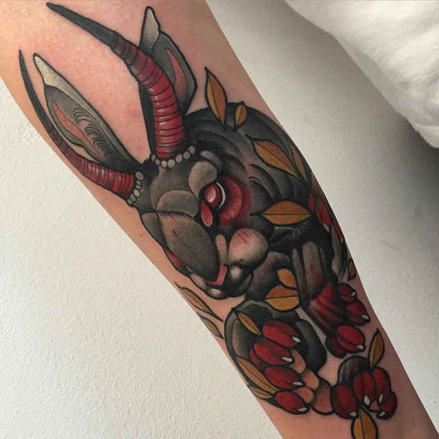 Devil Rabbit Tattoo