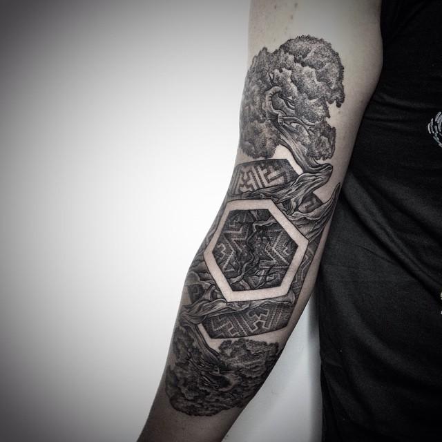 Earth Element Tattoo