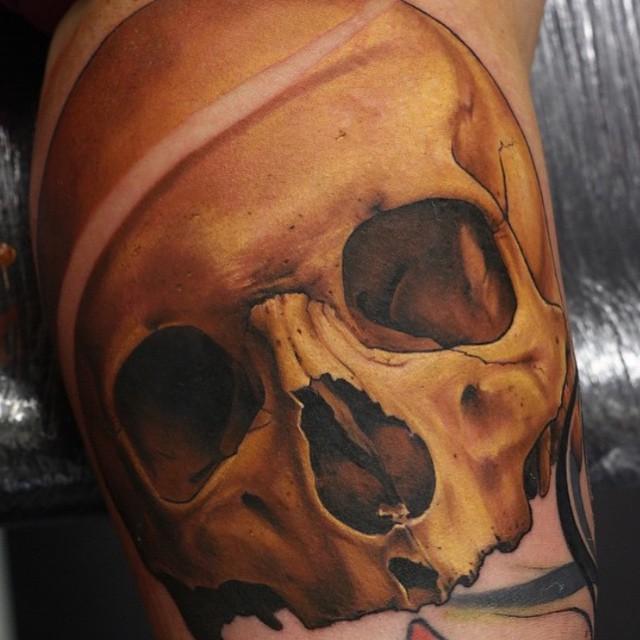 Realistic Skull Piece