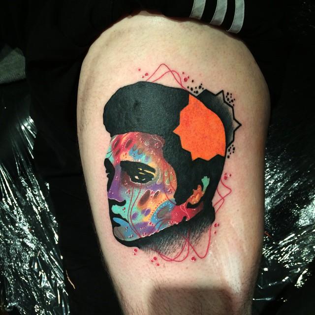 Tigh Elvis Tattoo