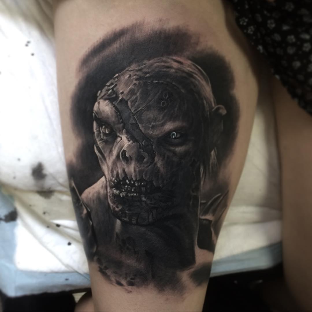 Hobbit Orc Tattoo
