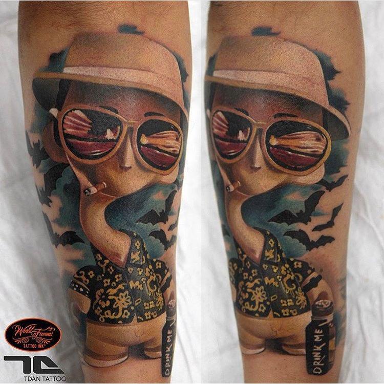 Las Vegas Cool Turtle Tattoo