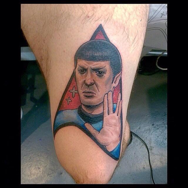 Spock Tattoo