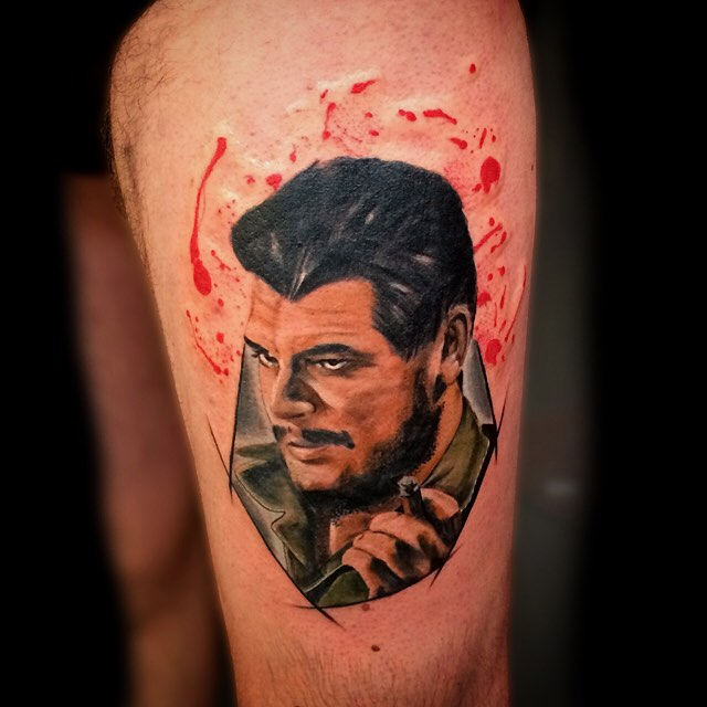 Che Guevara Portrait Tattoo