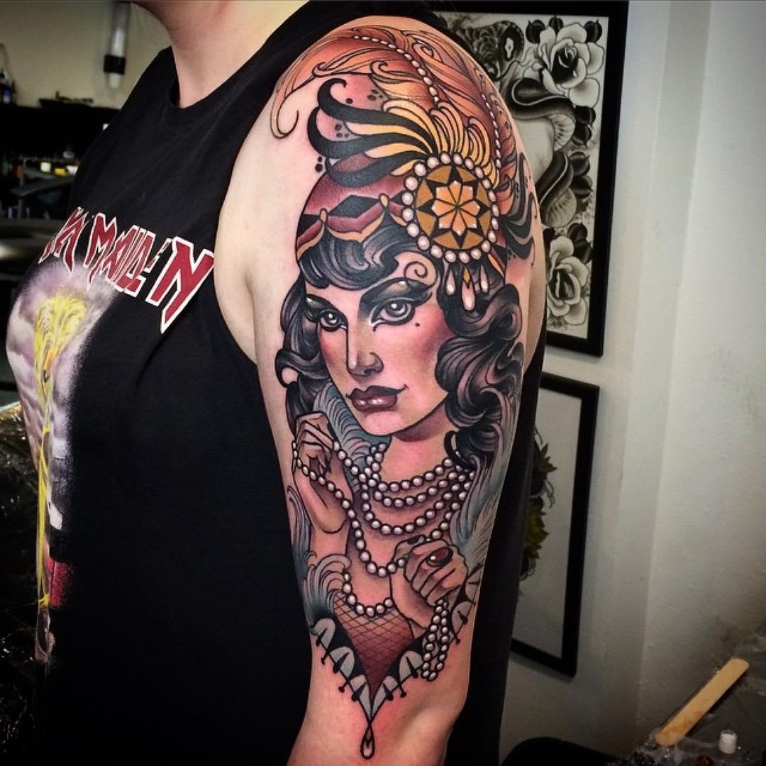 Fancy Lady Tattoo