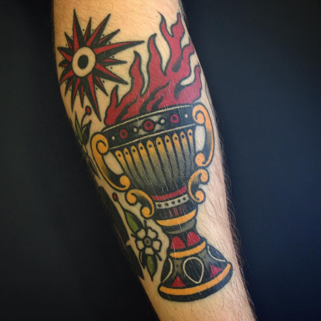 Goblet Tattoo on Forearm