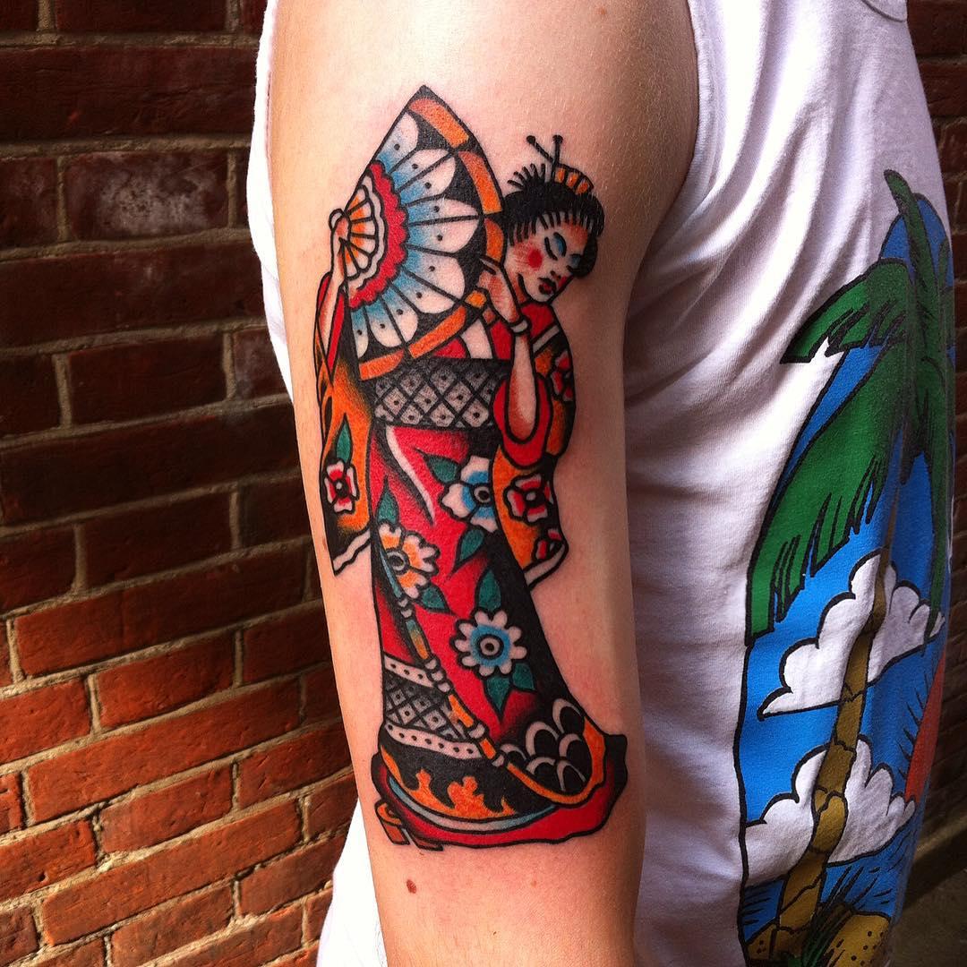 Japanese Arm Tattoo