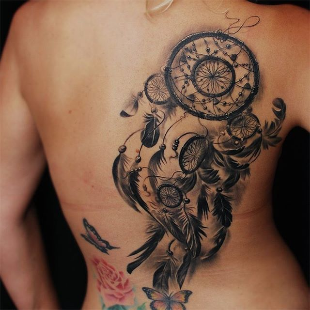 Tattoo Dream Catcher