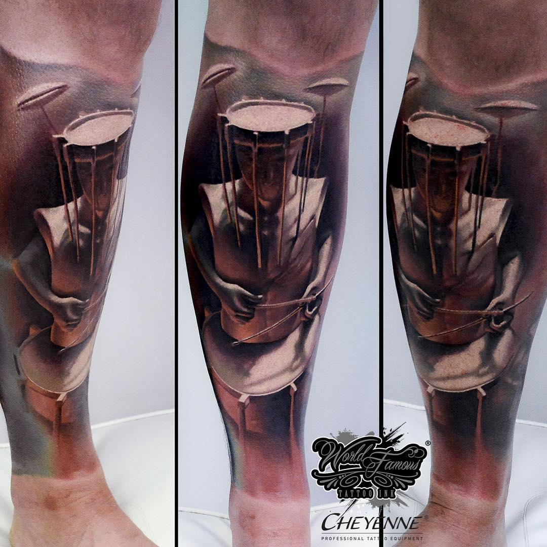Abstract Art Tattoo