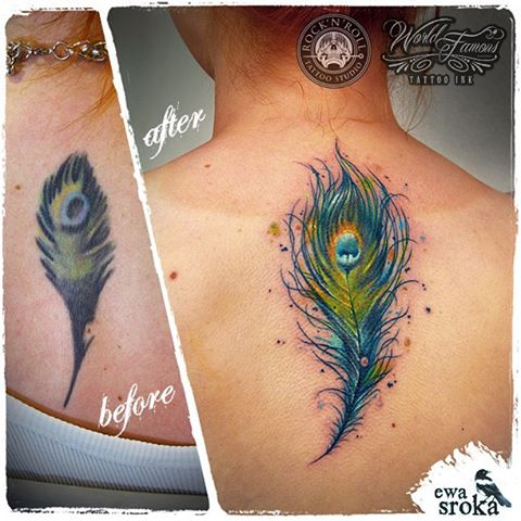 Back Tattoo Cover Up
