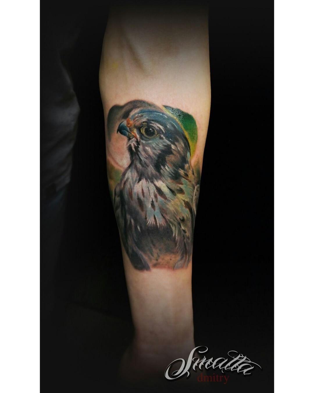 Bird Arm Tattoo