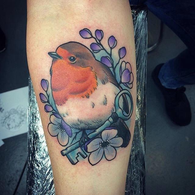 Bird Key Tattoo