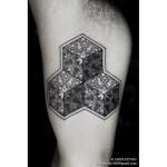 Geometric Mandala Tattoo