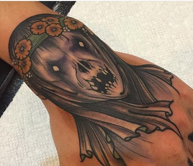 Grey Ghost Tattoo