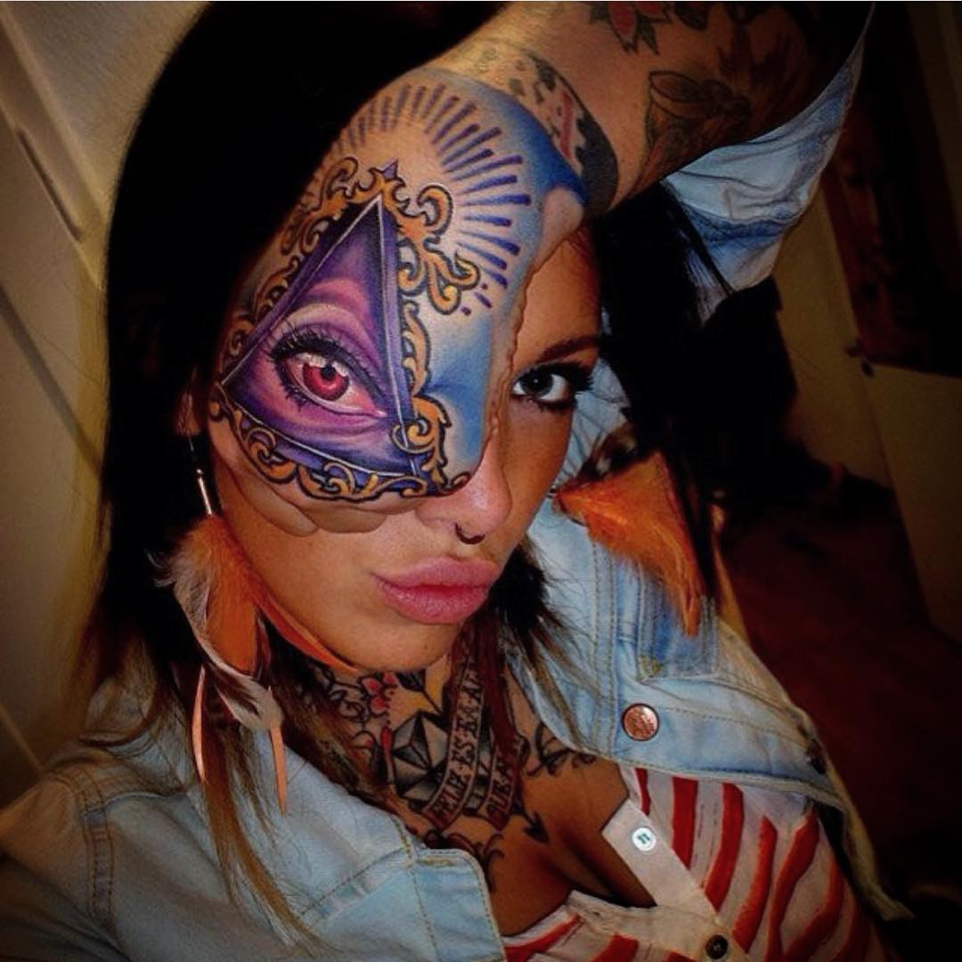 Hand Eye Tattoo