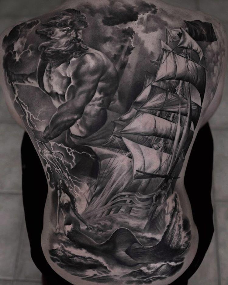 Poseidon Tattoo