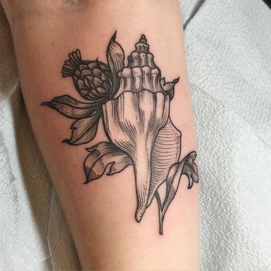 Shell Valentine Tattoo