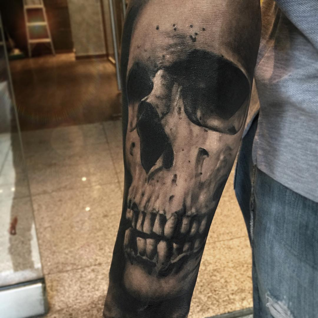 Sleeve Tattoo Skull