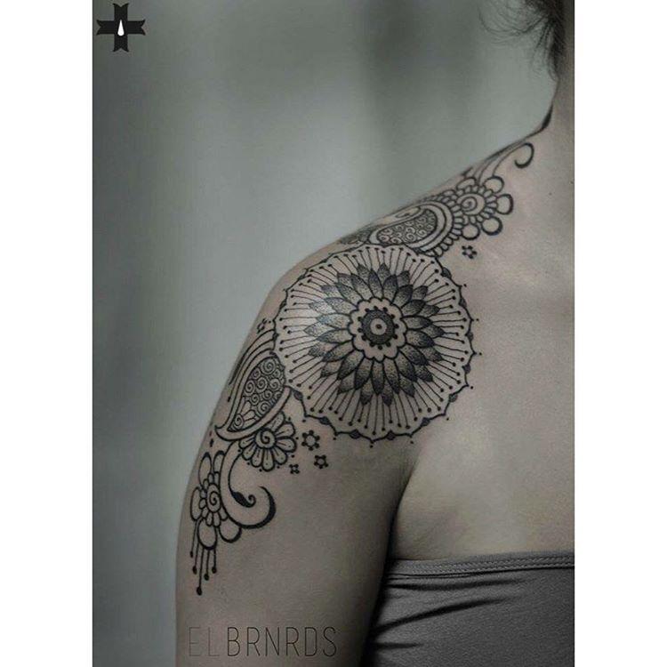 Front Shoulder Tattoo