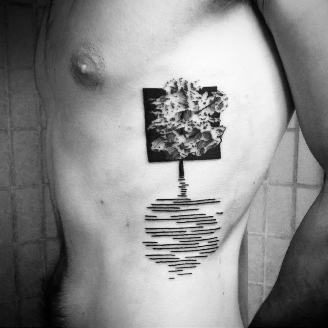 Rib Tattoo
