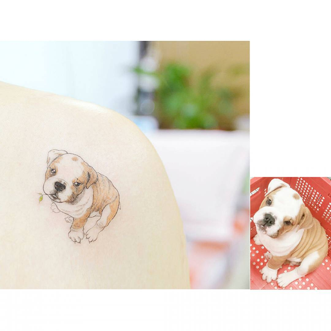 Tattoo Puppy