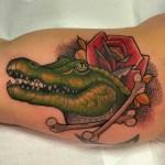 Crocodile Tattoo