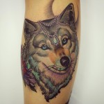 She Wolf Tattoo