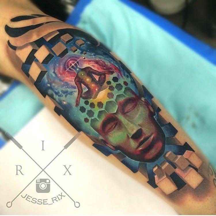 medetation tattoo