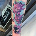Evil Pokemon Tattoos