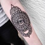 Mandala Tattoo Forearm
