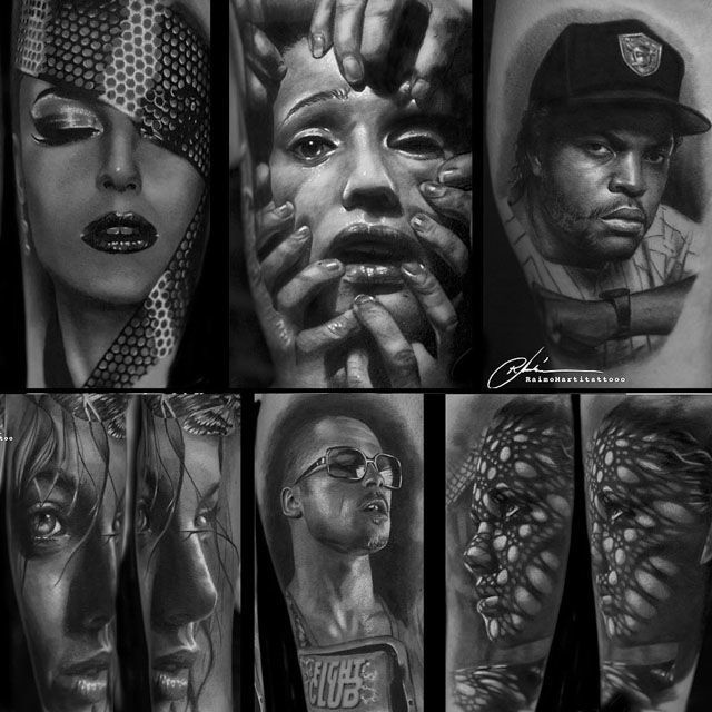 hyper realistic tattoos