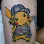 Badass Pikachu Tattoo