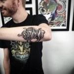 Bucking Bull Tattoo