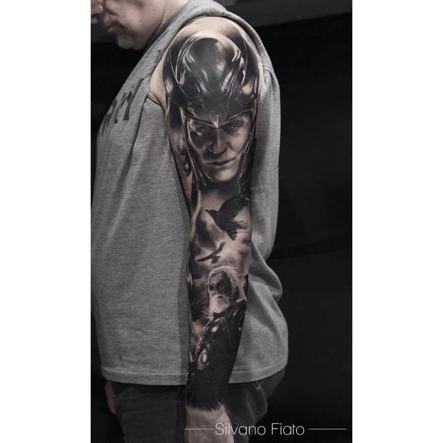 tattoo sleeve asgard