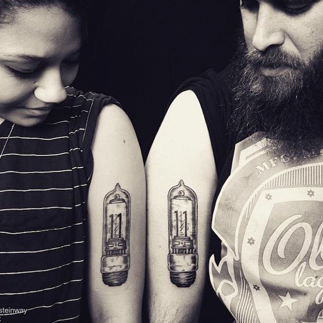 interesting tattoos for couples