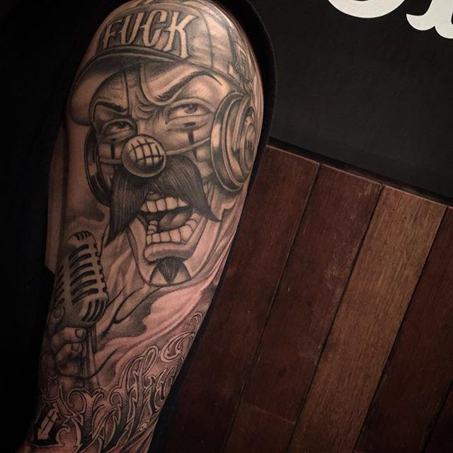 chicano tattoo face