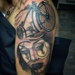 Chicano Lady Tattoo