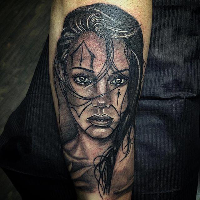 tattoo arm chicano